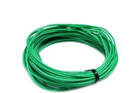 Провод гибкий медн. луж AWG 26 (0,12 мм кв)зеленый 10 м
