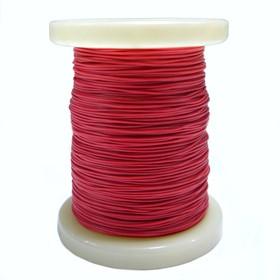 Провод силиконовый 30AWG 0,05 мм кв катушка 100 м (красный)