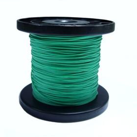 Провод силиконовый 28 AWG 0,08 мм кв катушка 100 м (зеленый)