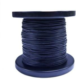 Провод силиконовый 28 AWG 0,08 мм кв катушка 100 м (черный)