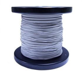 Провод силиконовый 28 AWG 0,08 мм кв катушка 100 м (серый)