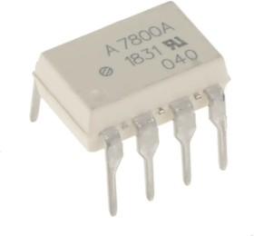 Фото 1/5 HCPL-7800A-000E, Изолирующий операционный усилитель, 1-канальный, 100кГц [DIP-8]