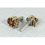 Переменный резистор 50кОм 7223 РПвр 50к\B\17мм\KC6x25\ F-16KGPE\[16T2]