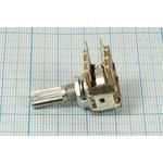 Фото 2/2 Переменный резистор 10кОм с щелчком 7228 B РПвр 10к\B\17мм\KC6x25\ F-16KG\[YRV-16T1]