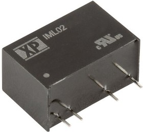 IML0215S12, DC/DC CONVERTER ISOLATED 12V 2W