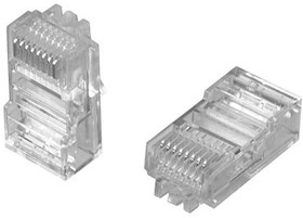 6-569530-3, Modular Plug, 8P/8C, Shie