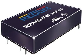 RPA60-2424SFW/P, DC/DC Converter Isolated