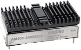 AM40E-2412SZ-K, DC/DC преобразователь, 40 Вт, вход 18-36 В, выход 12 В/3330 мА