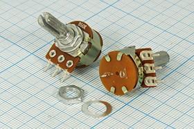 Фото 1/2 Переменный резистор 200кОм 7261 РПвр 200к\B\16мм\ KC6x20\F-16KSH-N\