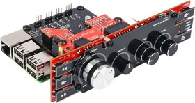 Фото 1/5 Hi-Fi-Pi №2, DAC 2.1, Stereo DAC for Raspberry Pi with subwoofer channels, 2 x PCM5242