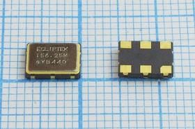 Кварцевый генератор 156.25МГц 2.5В, PECL, гк 156250 \\SMD07050C6\PECL\ 2,5В\SPO-10250BDSR\