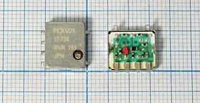 Управляемый напряжением (VCXO) кварцевый генератор 17.734475МГц, гк 17734,475 \VCXO\SMD126114M6\ \\FCXV-01\RIVER