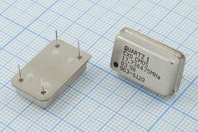 Фото 1/2 Кварцевый генератор 17.734475МГц 5В,HCMOS в корпусе FULL=DIL14, гк 17734,475 \\FULL\CM\5В\CXO\