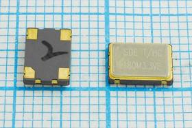 Кварцевый генератор 180МГц 3.3В,HCMOS/TTL в корпусе SMD 7x5мм, гк 180000 \\SMD07050C4\T/ CM\3,3В\SOC7\SDE