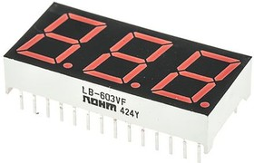 LB-603VF, LED Red 7-segment display