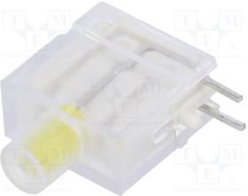 DBKD11, LED; в корпусе; желтый; 3,9мм; Кол-во диод:1