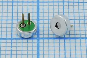 Микрофон электретный всенаправленный размерами 4x1.5мм, 4268 микэ 4,0x 1,5\O\2P\-45\ CF4015CD453-P