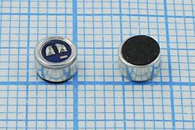Микрофон электретный всенаправленный размерами 4.5x3мм, 4224 микэ 4,5x 3,0\O\2C\-44\CF4530CD443D