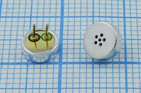 Микрофон электретный всенаправленный размерами 5.8x2.2мм, 4269 микэ 5,8x 2,2\O\2P\-38\ CF5822CD383DP
