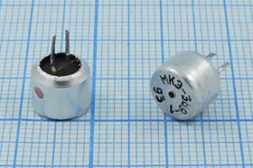 Микрофон электретный однонаправленный 8.5x6.5мм, 4222 микэ 8,5x 6,5\O\2P\10мВ/ Па\МКЭ-389-1 | купить в розницу и оптом
