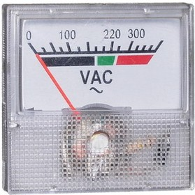 Вольтметр 300В 50гц (40х40)