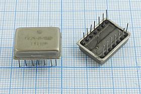 Кварцевый генератор 1.8432МГц 5В, TTL в корпусе ТЕРЕК, гк 1843,2 \\ТЕРЕК\TTL\5В\ ГК25-П-15АР\