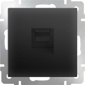 WL08-RJ-11 Телефонная розетка RJ-11 черный матовый a029855
