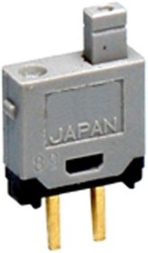 GB215AP, Switch Push Button OFF (ON) SPST Plunger 0.1A 28VAC 28VDC 0.4VA Momentary Contact PC Pins Thru-Hole