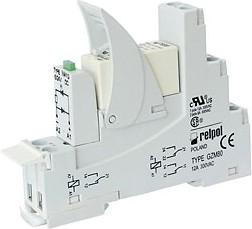 PI84-024DC-00LD GRAY, Интерфейсное реле, контакты: 2C/O, 24VDC, номинальная нагрузка: 8A, ширина: 15