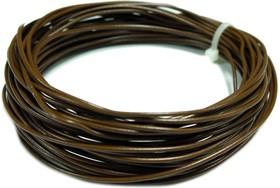 Монтажный провод НВ-4 0,35 мм кв.(коричневый )10 м