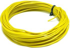 Монтажный провод НВ-4 0,75 мм кв. ( желтый ) 10 м