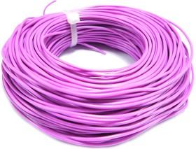 Монтажный провод НВ-4 0,35 мм кв.( фиолетовый ) 50 м
