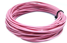 Монтажный провод НВ-4 0,35 мм кв.( розовый )10 м