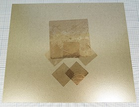 Изоляционная слюдяная пластина, № 9997 A изол прокл\150x150x0,3\ слюда\[150x150]
