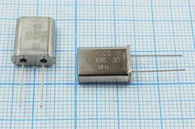 кварцевый резонатор 10.695МГц в корпусе HC49U, с нагрузкой 30пФ 10695 \HC49U\30\ 20\ 20/-20~70C\49U\1Г