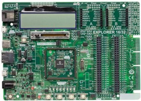 DM240001-2, PIC24/PIC32/dsPIC Microcontroller Development Board Linux/Mac OS OS