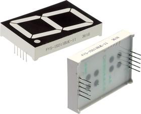 FYS-15011BUE-11, индикатор оранжевый ОА 38.1мм 1x7 630нМ