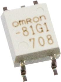G3VM-81G1, оптореле 80В SPST, SOP4 SMT 350мА