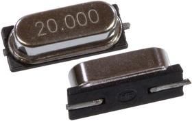 HC-49SM 20.00 MHZ, кварцевый резонатор. 20.000 МГц