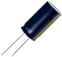 Фото 1/2 ECA2AM102, электролитический конденсатор 1000мкФ, 100В, радиальн выв 18x35.5