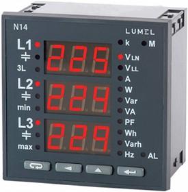N14 22008, 3 фазный анализатор/аналог UMG96