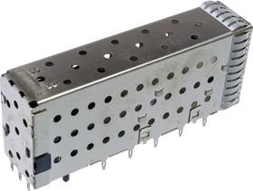1-2007492-5, SFP+ разъем 20х2 угловой