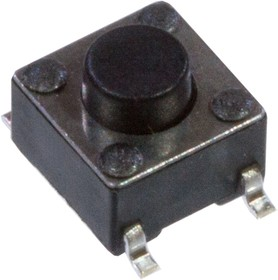 KAN0642-0501B010-42 (аналог IT-1102WA8-160G-G), кнопка тактовая 6х6 SMD h=5мм