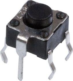 KAN0621-0501B010-42 (аналог 0650GHIM-130G-G), кнопка тактовая 6х6 h=5мм (аналог TS-A2PG-130)