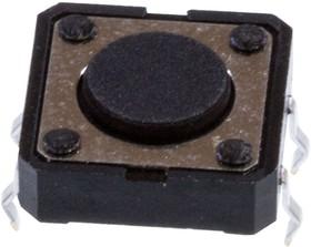 KAN1211-0431B010-42 (аналог1243HIM-160G-G), кнопка тактовая 12х12 h=4.3мм