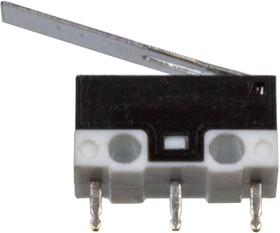 G10-18P-30-3, микропереключатель с лапкой 125В 3A (=DM3-03P-25G-G-G)