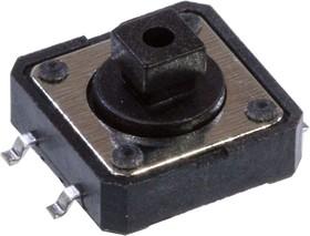 KAN1241-0731B-22 (аналог 1273SHIM-160G-G), кнопка тактовая 12х12 SMD h=7.3мм