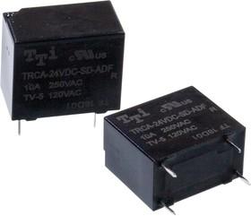 TRCA-24VDC-SD-ADF-R, реле 24V/10A 240VAC (замена TRC-24VDC-SC-AD-R)