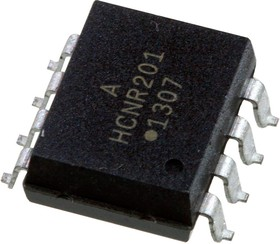 Фото 1/5 HCNR201-500E, оптопара SMD8 (для ручной пайки)