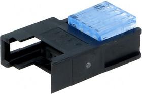 Фото 1/3 37304-A165-00E-MB, IDC гнездо на кабель 4 контакта шаг 2мм 2А/1500В синее